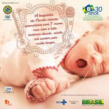 Resultado de imagem para Dia da Criança prematura (RJ)