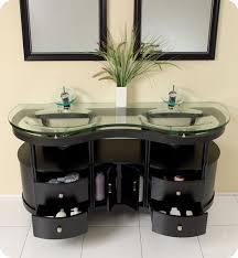 unico vanity with integrated glass countertop photos bathroom vanity