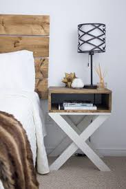 ideas bedside tables pinterest night: lack of space is a frequent problem today today id like to help you to find a nightstand that could fit into the tiniest bedrooms and still be functional