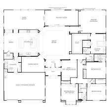ideas about One Story Houses on Pinterest   Two Story Houses    nice home designs   Single Story Floor Plans One Story House Plans Pardee Homes
