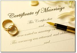 "Image result for caricature of a ""."" marriage certificate."""
