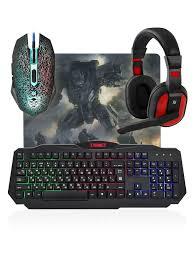 <b>Игровой набор Defender</b> Target MKP-350 мышь+клавиатура+ ...