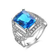 Роскошное <b>кольцо</b> с австрийским кристаллом, вечность ...