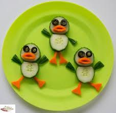 Fun food art Dancing Ducks - Fun, healthy, <b>creative</b> food for kids big ...
