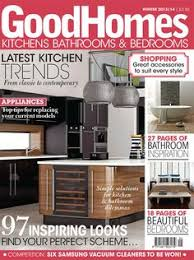our first good homes front cover featuring our new york kitchen design betta living home office