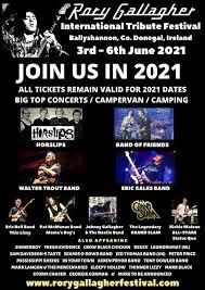 <b>RORY GALLAGHER</b> INTERNATIONAL FESTIVAL 2021 ...