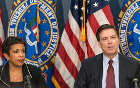 Image result for loretta lynch FBI COMEY