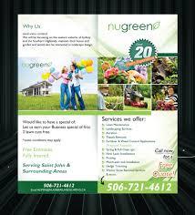 elegant playful landscaping flyer designs for a landscaping flyer design design 2956882 submitted to looking to rebrand landscaping business closed