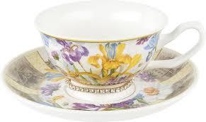 <b>Чайная пара Nouvelle</b> Ирис Кристалл, 0661138-1, разноцветный ...