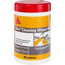 <b>Очищающие салфетки SIKA</b> Cleaning Wipes-100 50 шт ...
