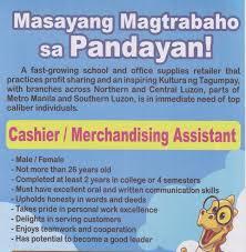 immediate hiring municipality of balayan batangas available jobs