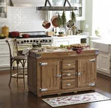 kitchen island mobile: wooden mobile kitchen island with seating