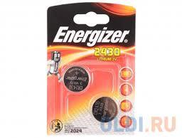 <b>Батарейки Energizer Lithium CR2430</b> 2шт. (637991E300830301 ...