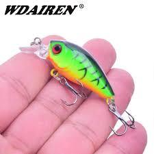 <b>1Pcs</b> Crank Hard Fishing Lures 4.5cm 4g Minnow <b>Crankbait</b> ...