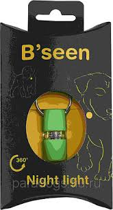 <b>Брелок</b> KRUUSE На Ошейник Мигающий B'<b>Seen</b> 360 Лайм, цена ...