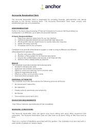 sman responsibilities resume s clerk responsibilities resume