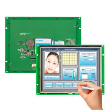 <b>8</b> inch touch screen controller intelligent monitor <b>tft</b> round lcd display