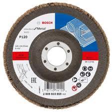 Лепестковый <b>шлифкруг Bosch</b> X431 Standard for Metal <b>125 мм</b> ...