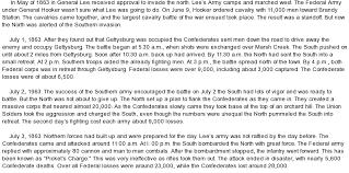 gettysburg essay  www gxart orgbattle of gettysburg at   comessay on battle of gettysburg