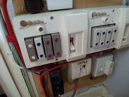 replace s fuse box and other minor electrical work photographs