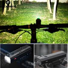 USB Rechargeable LED <b>Light ROCKBROS Bike Bicycle Cycling</b> ...
