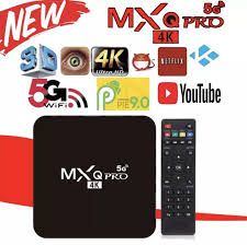 DQY PRE INSTALL MX Q PRO 4K 5G TV Box <b>2020 Latest</b> Version ...