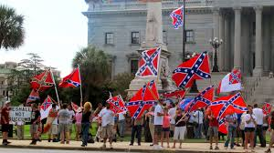 Image result for confederate flag protest south carolina state house