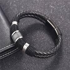 Кожаный <b>браслет</b>, <b>Плетеные</b> кожаные <b>браслеты</b>, Мужские ...