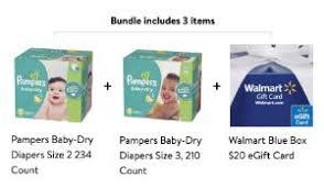 Pampers Diapers + $20 Walmart Gift Card + $15 Rebate :: Southern ...