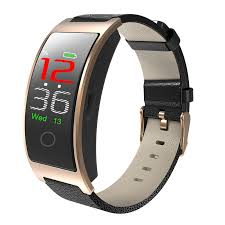 Bluetooth 4.0 Smart Watch - Blood Pressure Tracker <b>CK11C</b> Model ...