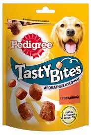 Купить Лакомство для <b>взрослых собак</b> Pedigree <b>Tasty</b> Bites ...