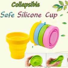 Portable Silicone Retractable Folding Cup Telescopic Collapsible ...