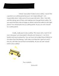 school safety essay the letter that landed my daughter on the the letter that landed my daughter on the safety patrol pieces the letter that landed my
