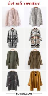 <b>hot sale</b> sweaters from romwe.com | <b>Trendy fashion outfits</b>, Girls ...