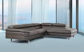 david ferarri violetta italian modern grey leather sectional sofa awesome italian sofas