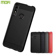 MOFi For Huawei P Smart Z Case Luxury <b>Carbon Fiber Anti drop</b> ...