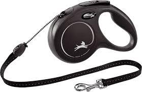 Поводок-<b>рулетка Flexi New Classic</b> S, трос, для мелких собак до ...