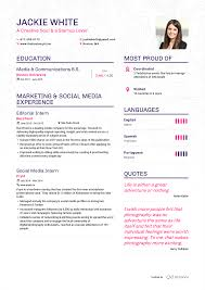 examples of resumes by enhancv jackie white resume page 1