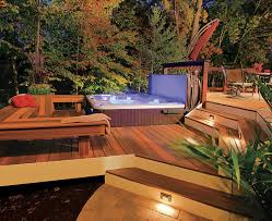 bright ideas for a well lit deck bright ideas deck