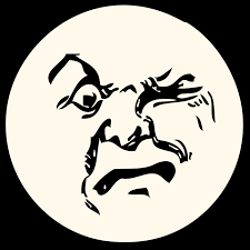 Free Moon Clipart - angry-moon