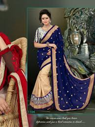 buy blue cream gold border embroidery work saree online buy blue cream gold border embroidery work saree online latest blue cream gold border embroidery work saree by vency creation latest sarees