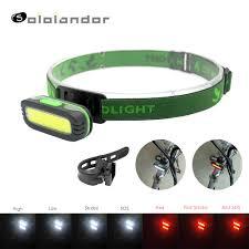 <b>SOLOLANDOR</b> 2019 Newest IR Sensor <b>Headlight Mini</b> Induction ...