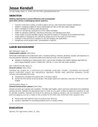 labor resume cover letter  seangarrette co   resume cover letter for laborer best free professional cover letter samples resume builder construction laborer resume