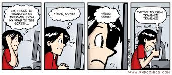 PHD Comics  Writing shortcut PHD Comics