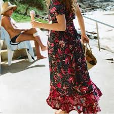 Винтажная шикарная Женская пляжная плиссированная <b>юбка</b> ...