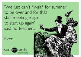 Staff meetings | Teacher quotes and funnies | Pinterest