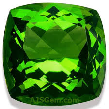 <b>Green Tourmaline</b> Gemstone Information at AJS Gems
