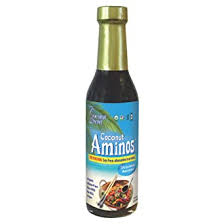 Coconut Secret, Raw <b>Coconut Aminos</b>, Soy-Free <b>Seasoning</b> Sauce ...