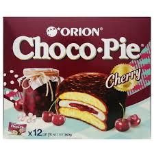 Прослоенное глазированное <b>печенье</b> с вишней <b>Choco</b> Pie ...