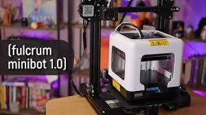 Smallest 3D Printer 2020 - <b>Fulcrum Minibot 1.0</b> Review - YouTube